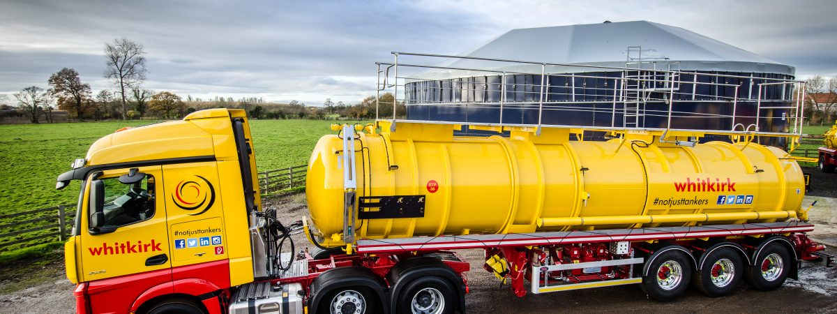 Whitkirk Waste Solutions RTN CLAYTON VALLELY ADR VACUUM TRAILER