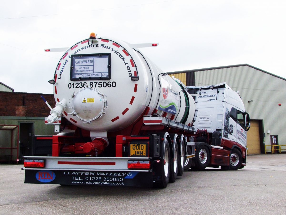 Liquid transport services take delivery
