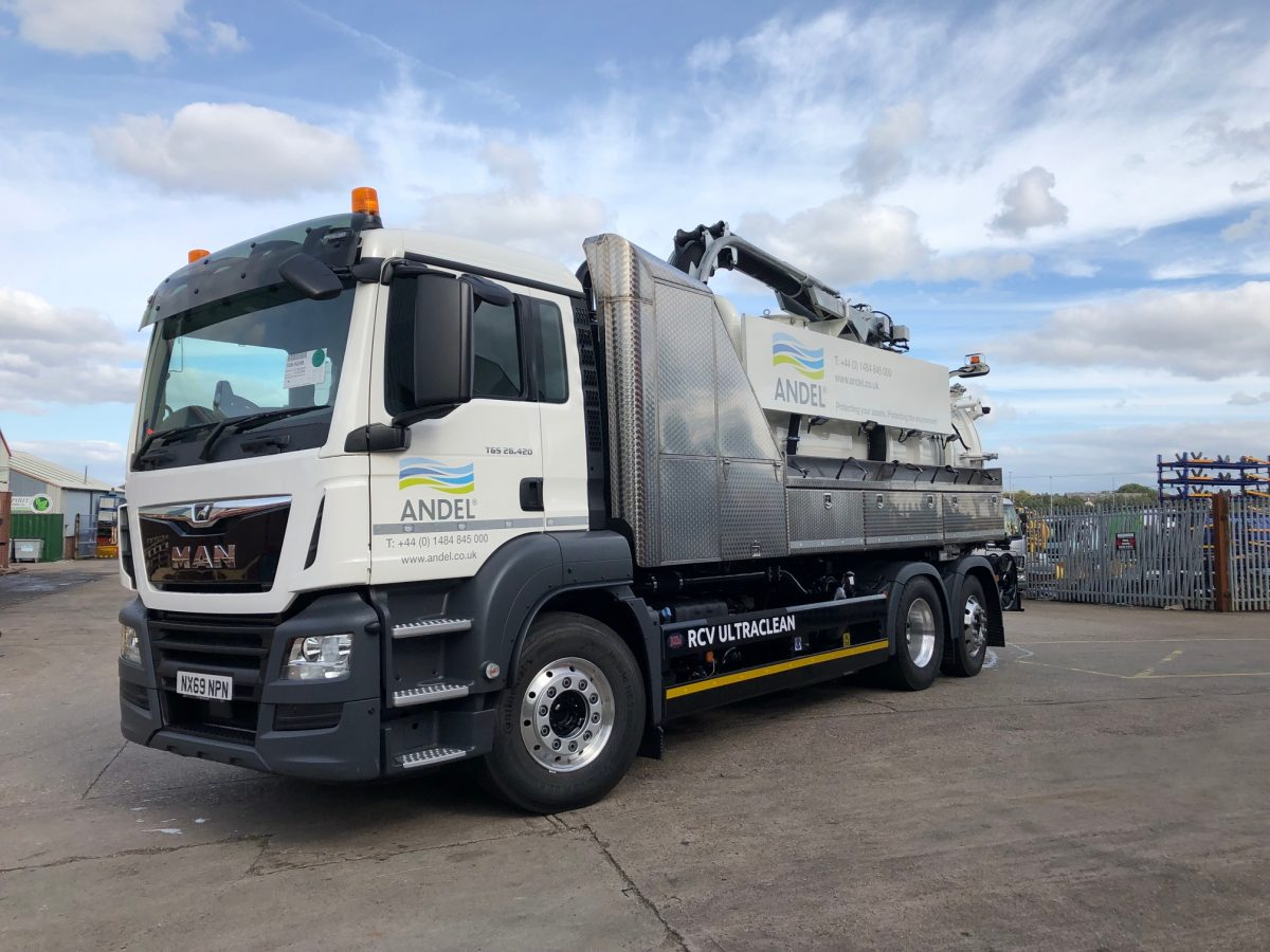 Delivery of RCV Ultra Clean Recycler